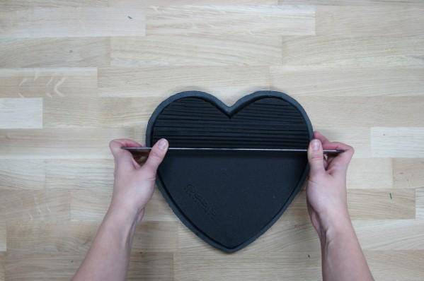 DIY-Letterboard Herz