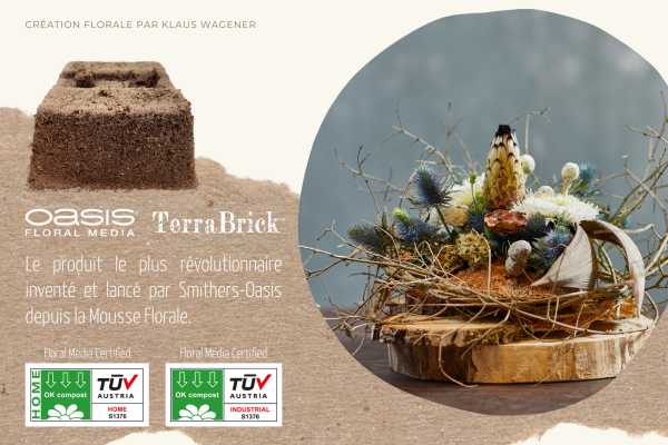 OASIS TerraBrick Floral Media