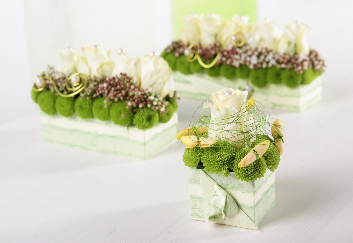 OASIS® Table Design Neo - All on Edge! - OASIS® Floral Products