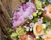 How to make bride bouquet