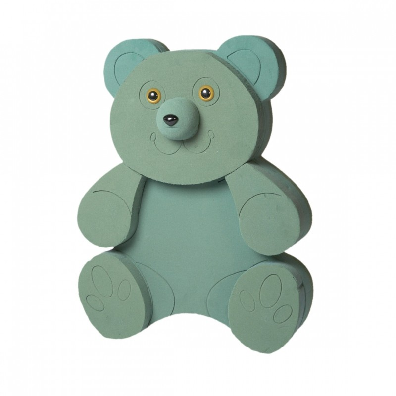 OASIS® FOAM FRAMES® Teddy bear - OASIS® Floral Products
