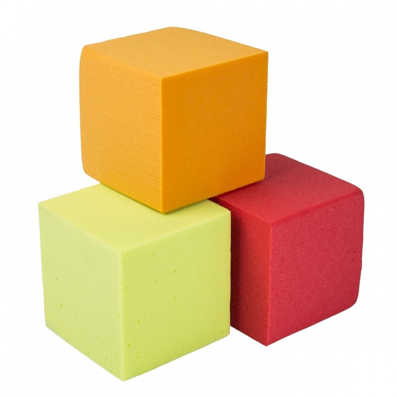 oasis rainbow foam cubes 10 cm oasis floral products