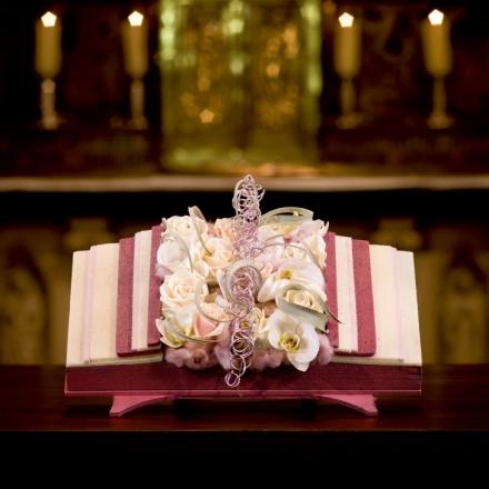 Phalaenopsis altar open book