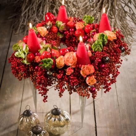 Colourful Xmas Wreath