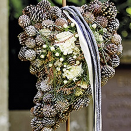 commemorative floristik for inserting
