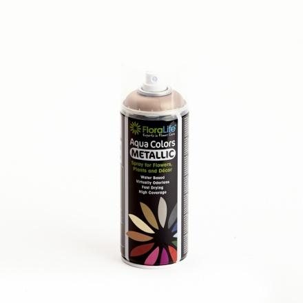 Floralife® Aqua Color spray Metallic