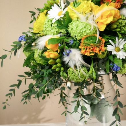 Easter bouquet without stemps