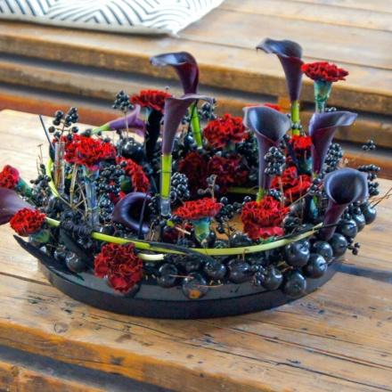 Black Cherry Wreath