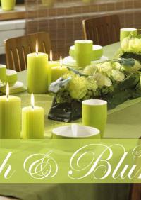 Tisch Deko & Blume Deutschland