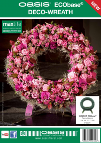 OASIS® ECObase® Deco-Wreath Flyer